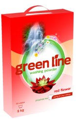 Brand Greenline Red flower