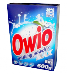 Washing powder Owio blue
